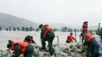 두만강류역 홍수방지형세 준엄… 연변지역 적극 대처