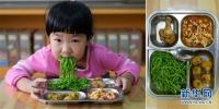 사진으로 보는 전국 각지 어린이들의 점심밥 메뉴