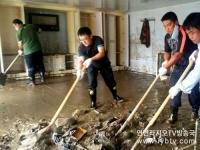 1200여명 청년자원봉사자 재해구서 활약