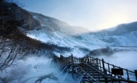 장백산 중국록색관광시범기지 1위 차지