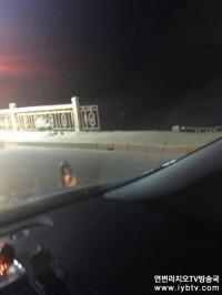 돈화 오동대교서 차량 추락사고 발생, 두명 숨져!