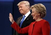 미국대선 첫 토론… 클린톤, 트럼프에 '판정승'