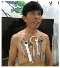 '자석인간' 50대 남성 등장