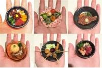 극소형 요리 '마이크로 푸드' 일본서 화제