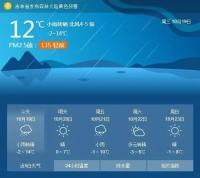 21일과 22일 길림성 보편적으로 눈 내린다