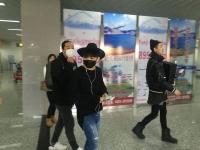 백청강 이틀간의 행사 마치고 한국으로 향발