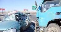 연길 택시와 화물차 충돌…1명 사망 4명 부상