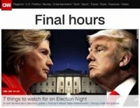 미국 대선 결전의 날,오늘 투표 시작
