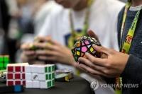 화란 20세 청년, 루빅 큐브 4.74초만에 맞춰 세계기록