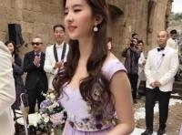 '송승헌의 그녀' 류역비, 결혼식 들러리…대민폐?