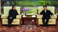 장엄 연룡도신구전문가론증회 전문가조 일행 회견