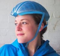 세계 디자인 대회 우승한 종이로 만든 '에코 헬멧'