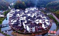 가장 동그란 마을, 장시 무원의 '국경' 마을