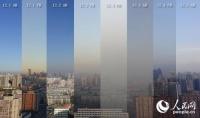 북경 공기오염 등색조기경보 발령후의 96시간