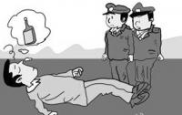 """연길, 아빠트 복도서 만취남 """"쿨쿨""""…겁에 질린 녀학생 110 신고"""