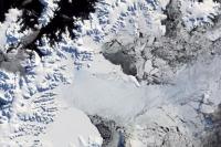 남극주 빙산에 길이113킬로메터, 넓이 90메터 파렬 발생