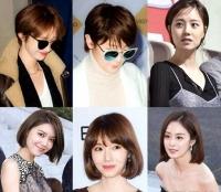 전지현 고준희 범빙빙… 중한 女스타들의 겨울 최신 류행 헤어스타일은 과연?