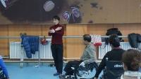 (포토)지체장애인들의 휠체어무용 <2017 새해맞이 사랑나눔콘서트>서 선보여