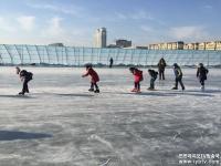 [포토] 연길 도심속 겨울 놀이터!…무지개다리 빙설대세계