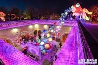 하남 삼문협: '지하 사합원' 안의 등불 향연