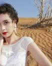 44세 인기 스타 양공여, 사막서도 빛을 발한 '동안 미모'