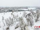 신강 액이제사하강의 3월, 순백색의 겨울 동화 속 세상