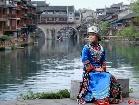 중국 호남 봉황고성, 초여름의 아름다운 경치에 반하다