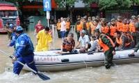 중국,남부는 홍수 북부는 폭염