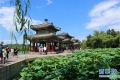 중국 '피서산장'의 비 갠 후 모습, '한 폭의 그림처럼'