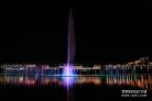 [포토] 아름다운 연길 부르하통하 강변의 밤