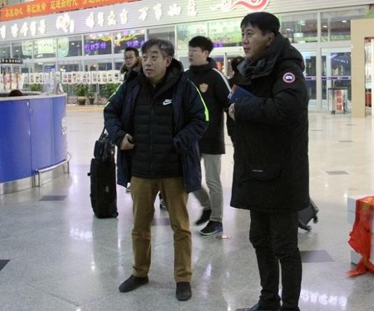 연변팀 박태하감독의 인솔하에 귀주로 출발