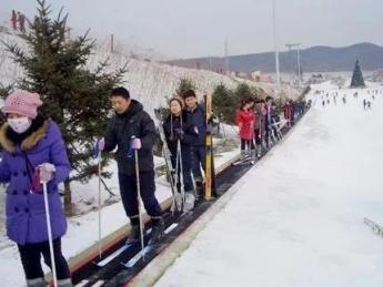 """""""연길-룡정해란강스키장"""" 직행차 12월 8일부터 개통"""