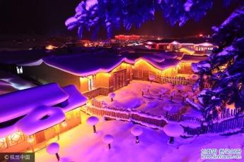 흑룡강 목단강: '중국의 설향'- 겨울날의 동화세계 탐방