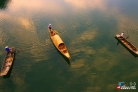 항공 촬영한 안휘 추포하: '아름다운 詩의 강'추포하