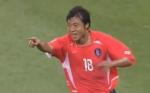 [영상] 2002한일월드컵 황선홍의 감각적인 왼발슛