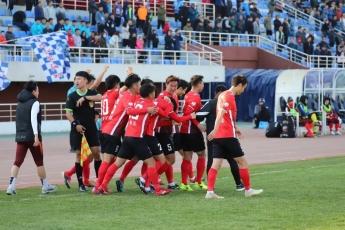 연변북국 시즌 첫승, 허파 선수의 결승꼴로 보정용대를 1-0으로 격파