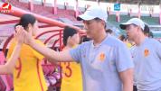 중국 U19녀자축구대표팀 연변 전지훈련 마치고 귀환