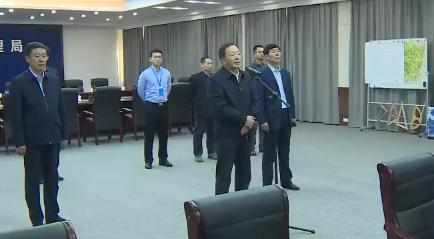 김수호 섣달그믐 당직인원들 위문