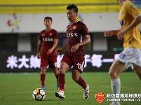 第二十轮上海申鑫VS延边富德比赛精彩瞬间