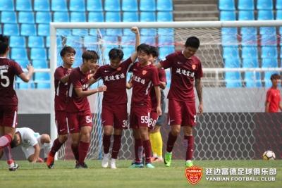 预备队|尹昌吉推射近角得手,延边富德客场1:1呼和浩特握手言和