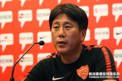 第二十轮上海申鑫VS延边富德赛前新闻发布会