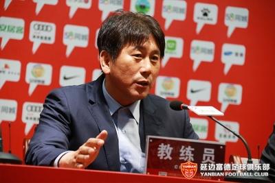 延边富德VS武汉卓尔赛后新闻发布会