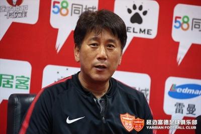 黑龙江FCVS延边富德赛后新闻发布会