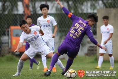 预备队|小将裴国光建功,梅西保利绝杀,延边富德客场2:1逆转黑龙江FC
