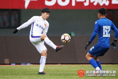 延边富德预备队VS石家庄永昌预备队比赛精彩瞬间