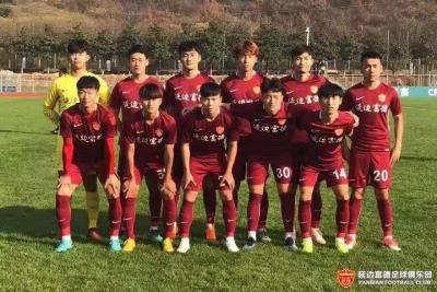 U23联赛|尹昌吉首开纪录,十人延边富德1:1战平大连一方