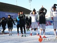 第三十轮新疆雪豹纳欢VS延边富德比赛精彩瞬间
