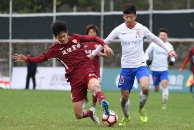 U23联赛|尹昌吉、郑春峰破门,延边富德2:2战平山东鲁能泰山