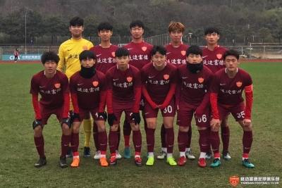 U23联赛|延边富德不敌上海绿地申花