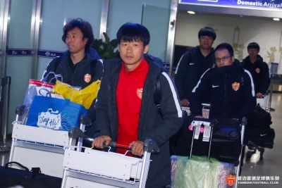 动态|延边富德足球队顺利结束今年第一阶段冬训拉练返回延吉